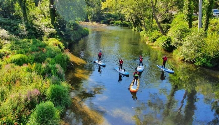 Qué ver en A Mariña Lucense: 8 propuestas para este 2021 - Descenso del río Eo en canoa
